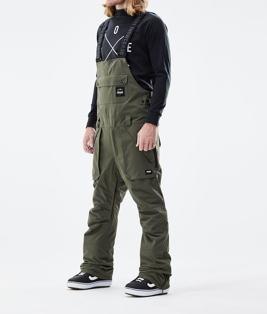 Dope Notorious B.I.B Snowboardhose Olive Green