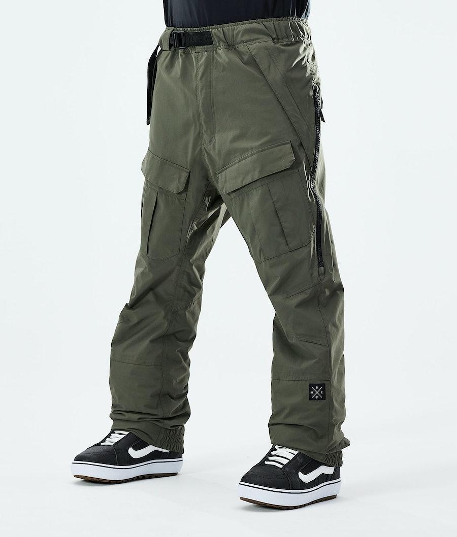 Antek 2020 Snowboard Pants Men Olive Green