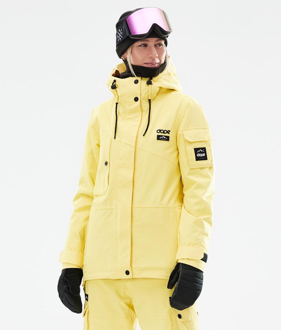 Adept W Ski Jacket Women Faded Yellow