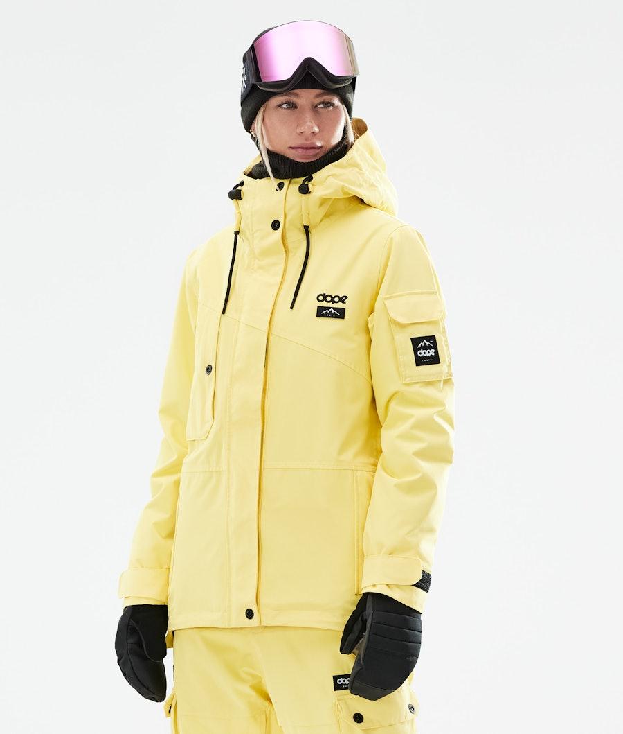Dope Adept W Snowboardjacke Faded Yellow