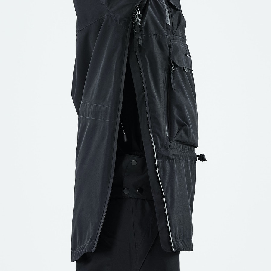 Side Zipper with Inner Placket
