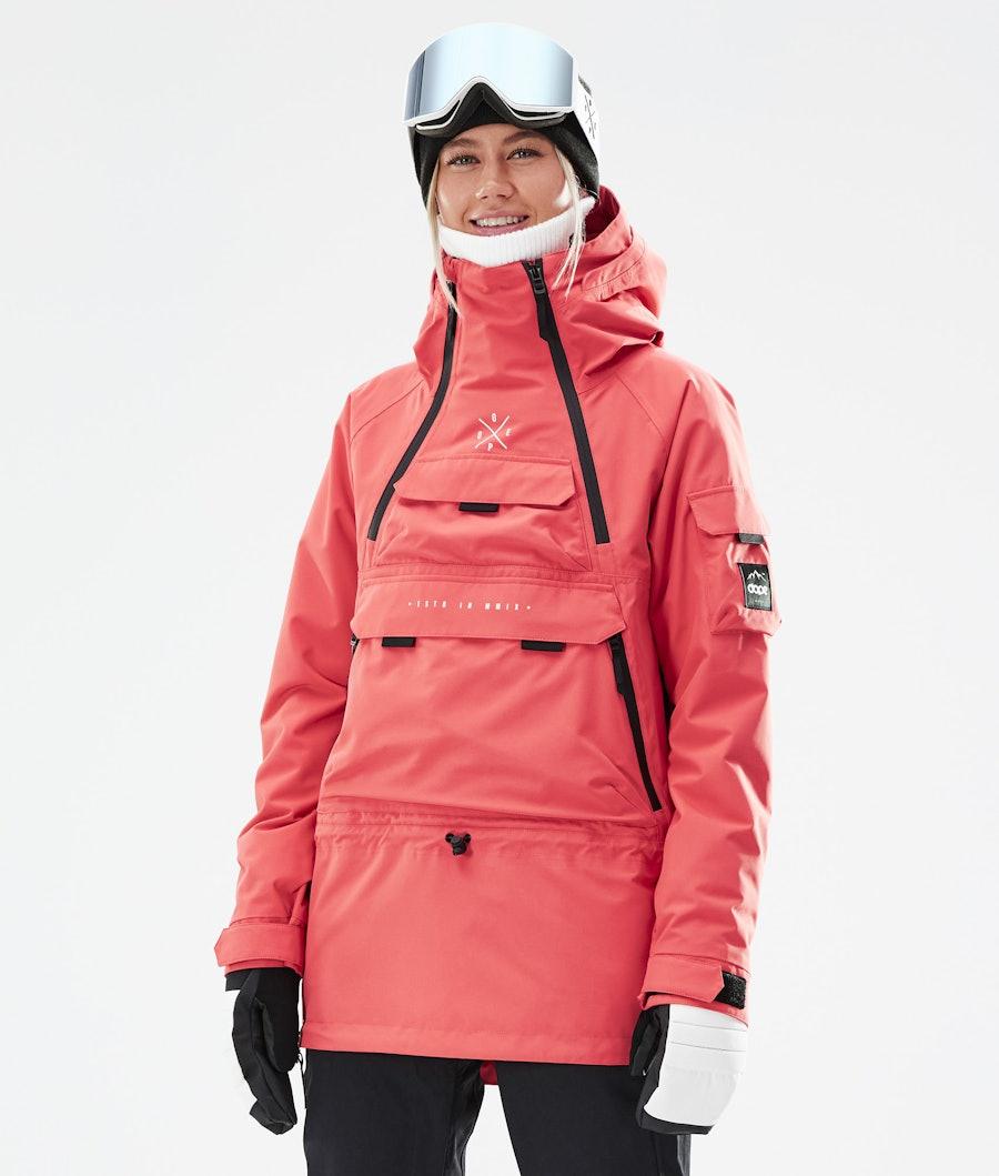 Dope Akin W Snowboardjacke Coral