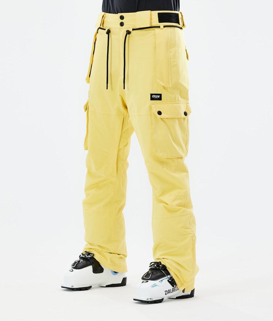 Dope Iconic W Ski Pants Faded Yellow