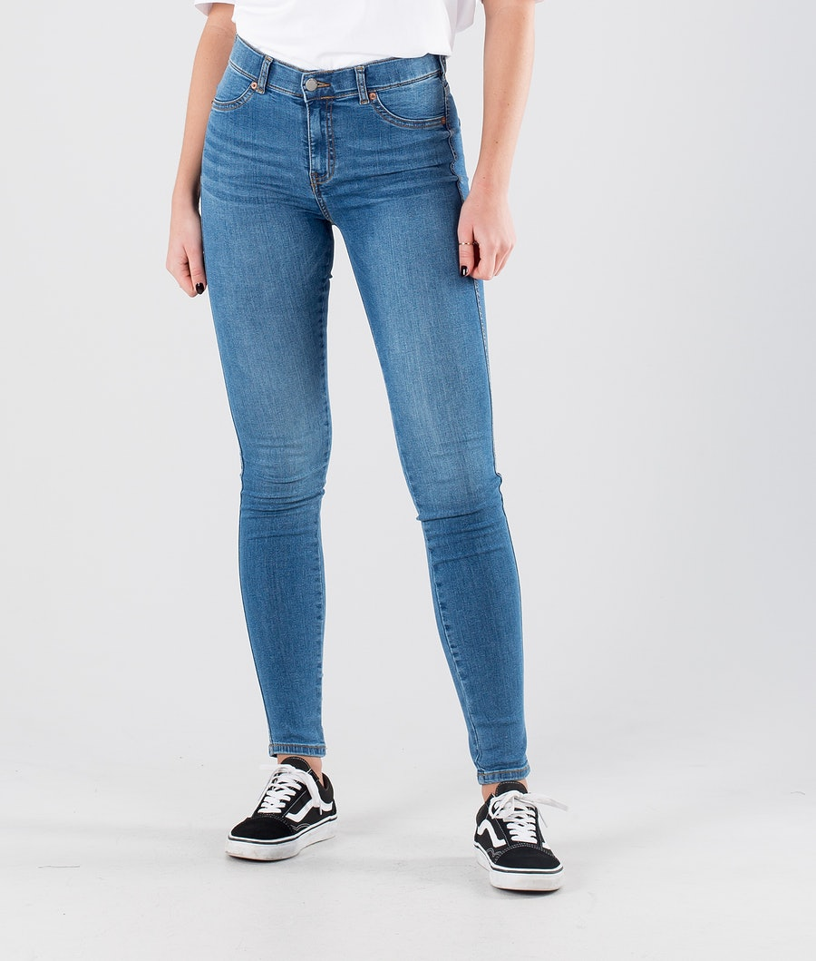 Dr Denim Plenty Bukser Storm Mid Blue