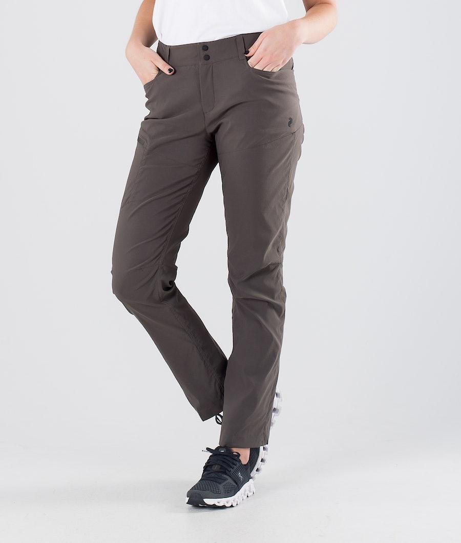 Peak Performance Iconiq Outdoor Trousers Black Olive