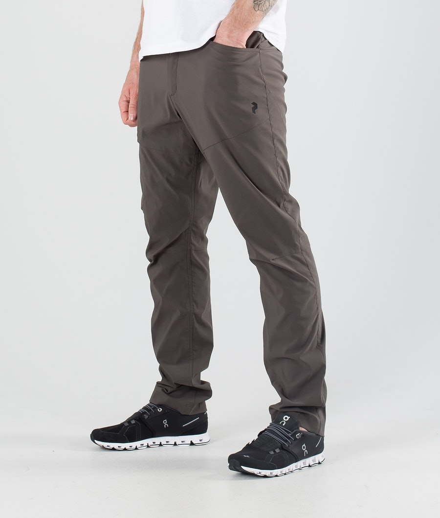 Peak Performance Iconiq Pantaloni Outdoor Black Olive