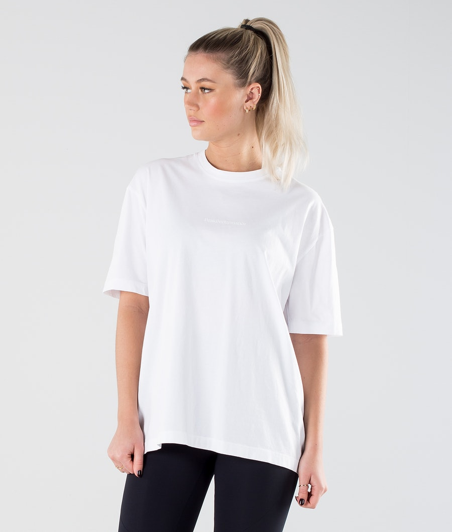 Peak Performance Long T-shirt White