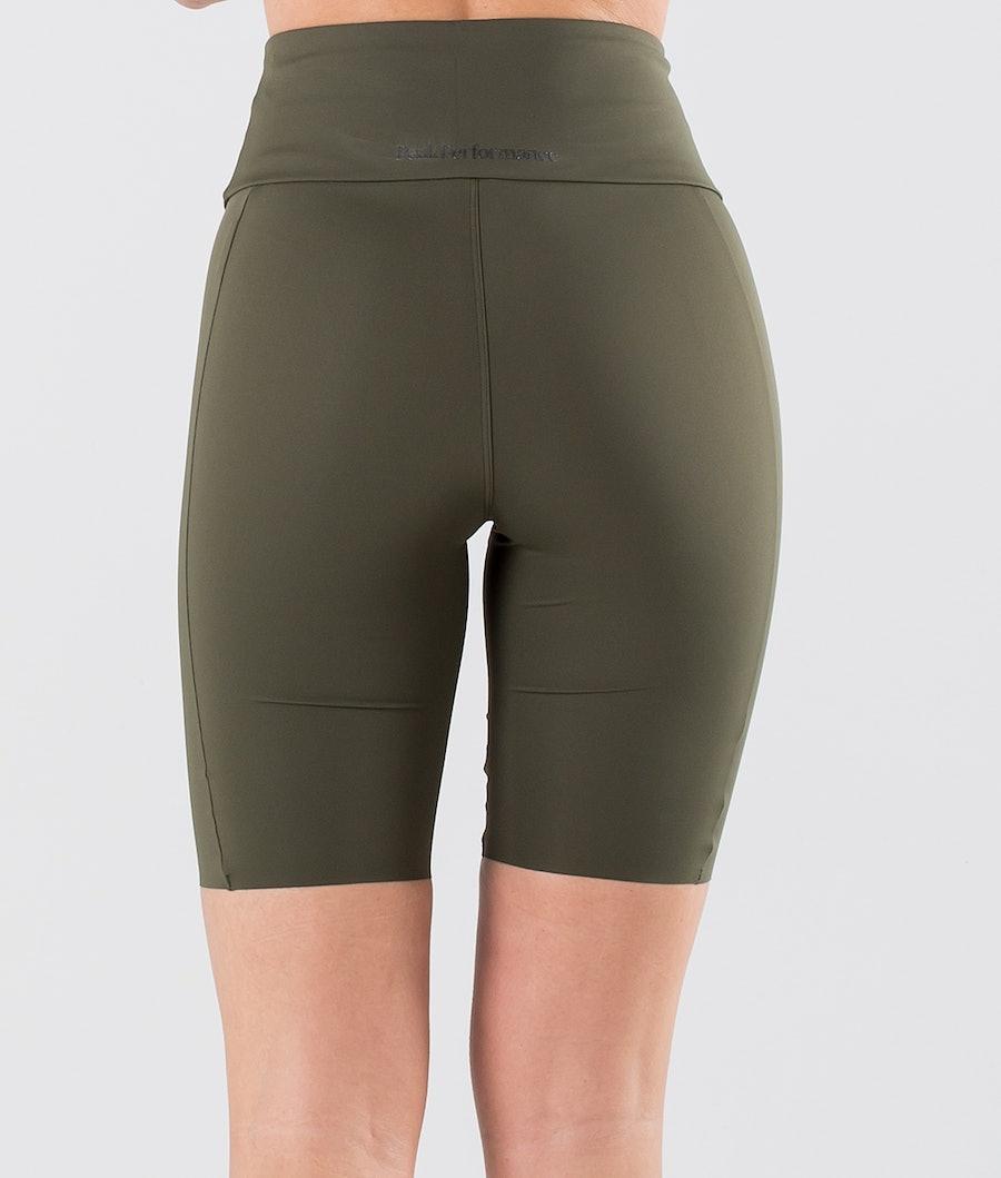 Peak Performance Power Bike Outdoor Shorts Damen Black Olive