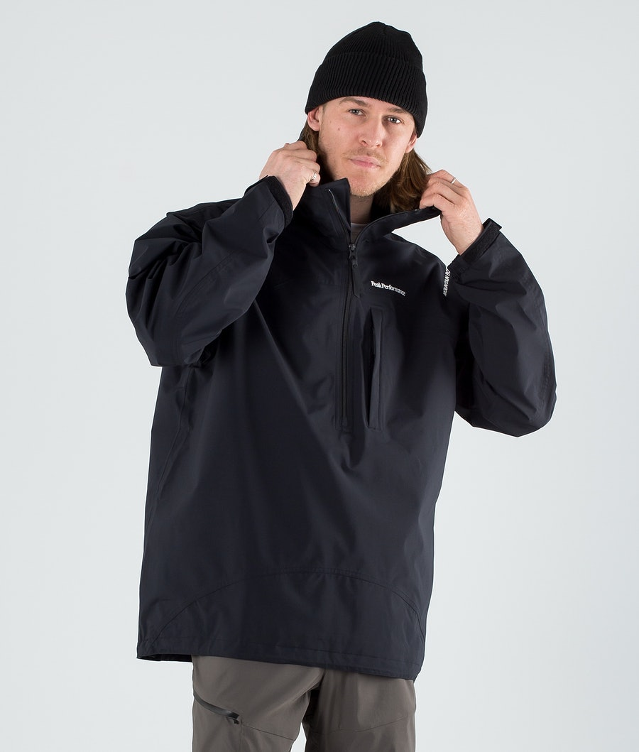 Peak Performance Stowaway Anorak Giacca Outdoor Black