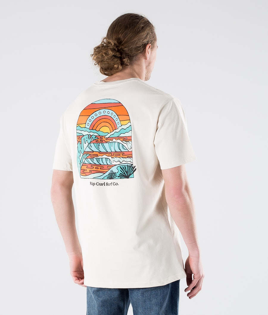 Rip Curl SWC Sundown T-shirt Bone