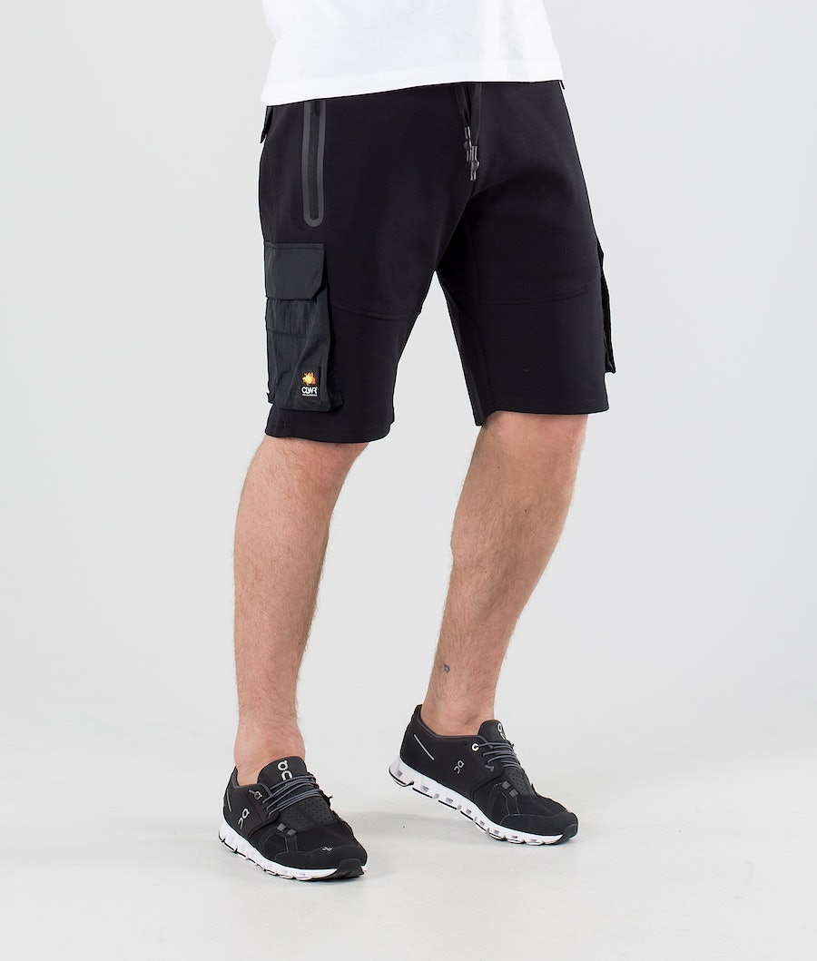 ColourWear Urban Athleisure Shorts Black