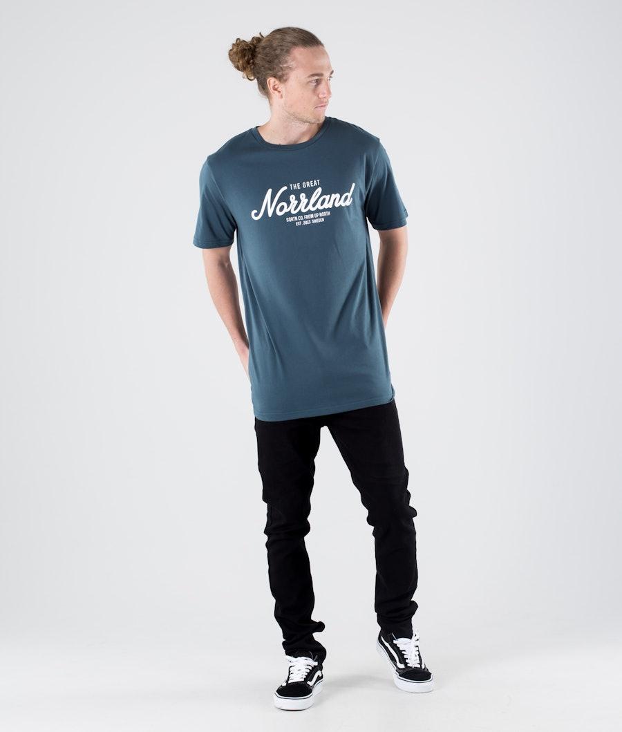 SQRTN Great Norrland T-shirt Petrol