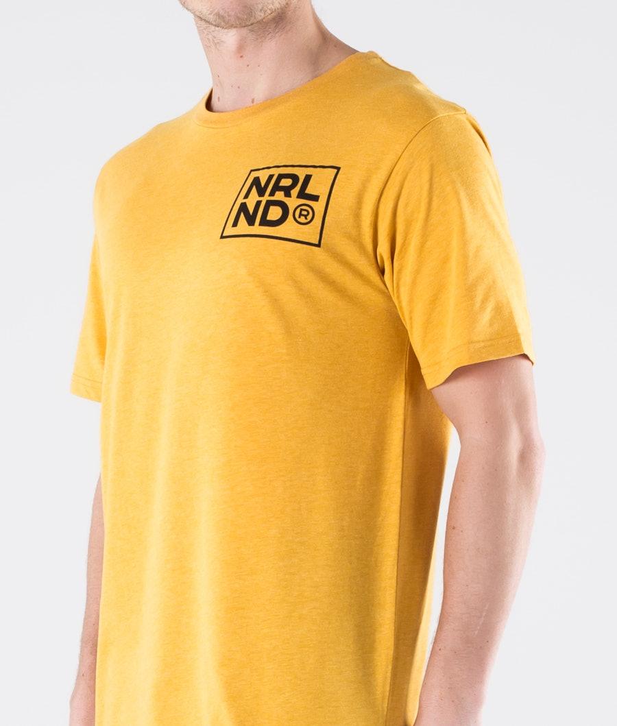 SQRTN NRLND Icon T-shirt Mustard