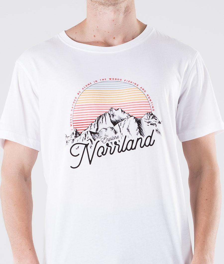 SQRTN Mount T-shirt White