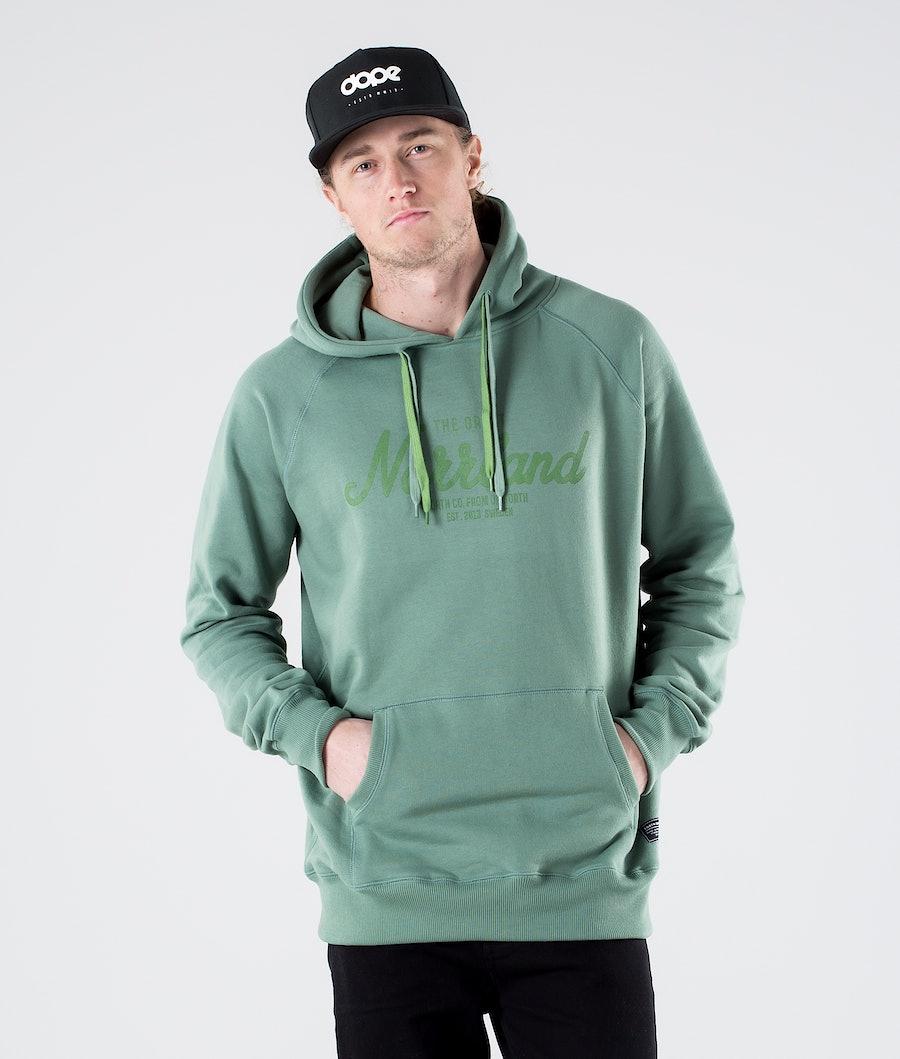 SQRTN Great Norrland Sweats à capuche Pale Green