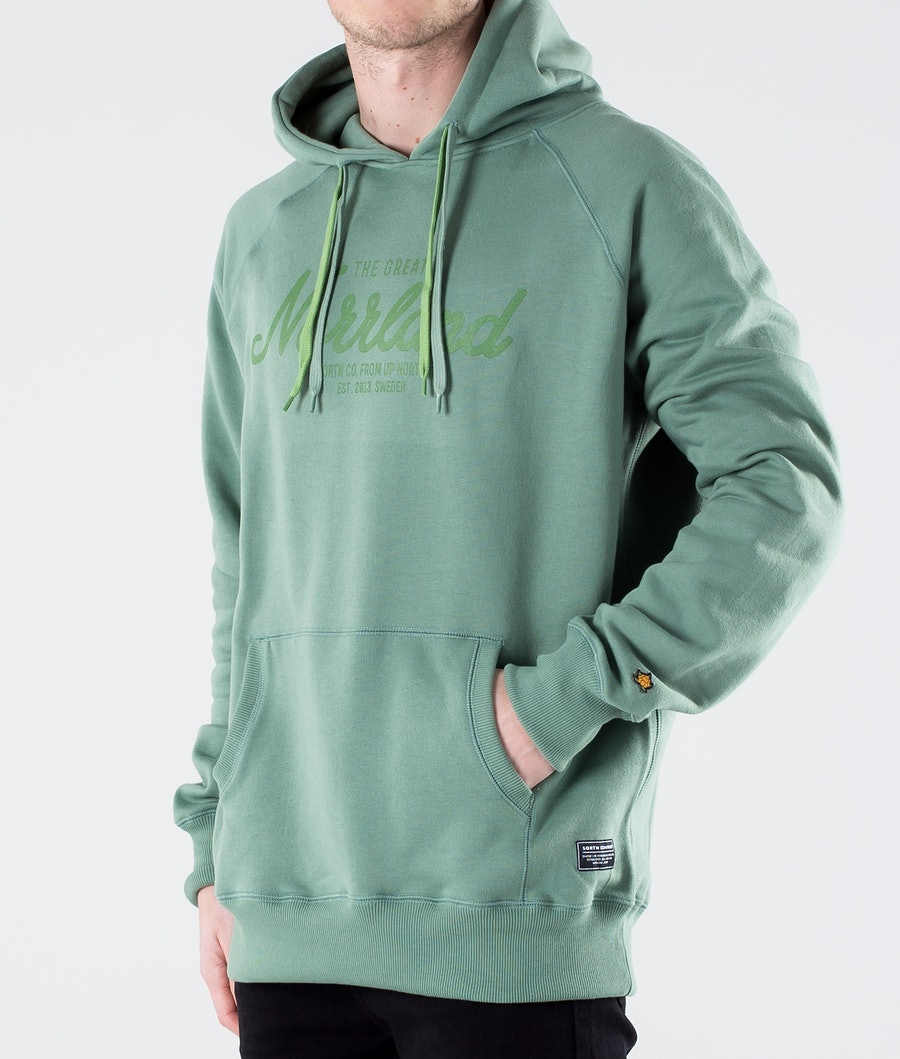 SQRTN Great Norrland Hood Pale Green