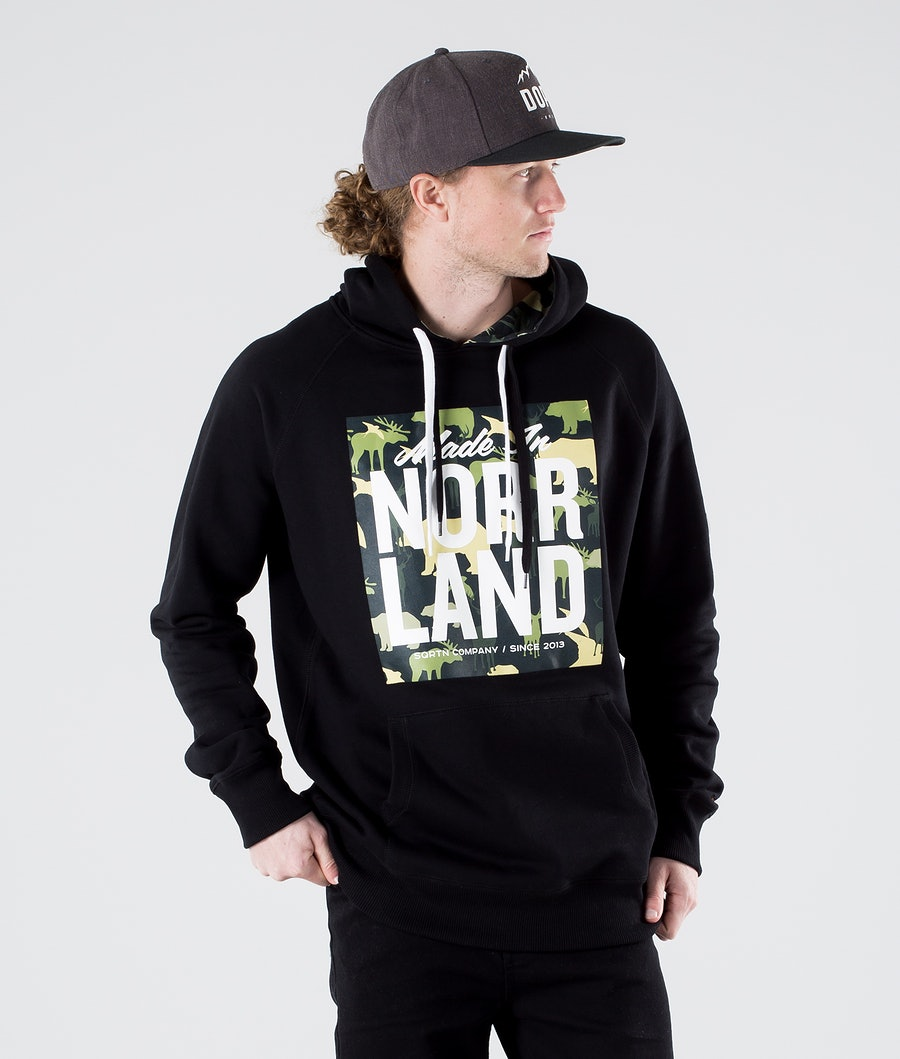 SQRTN Made in Hoodie Animal Camo