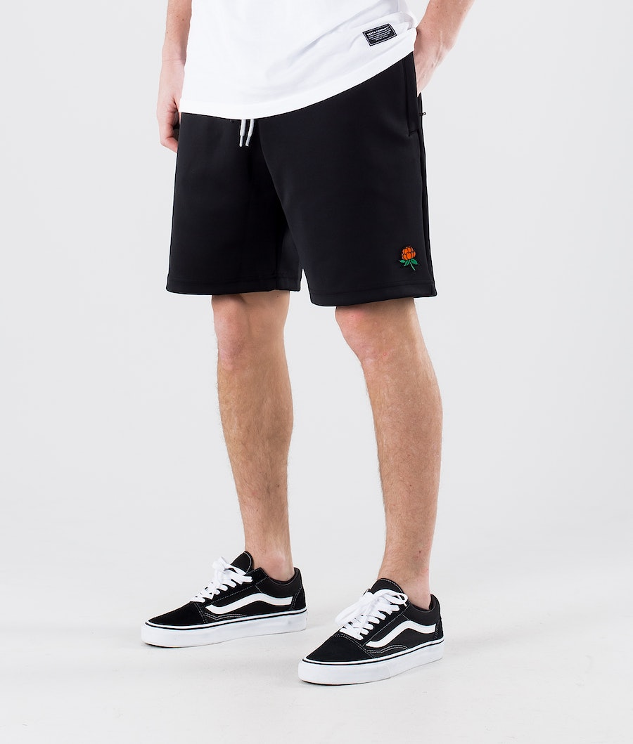 SQRTN Cb-Sketch Shorts Black