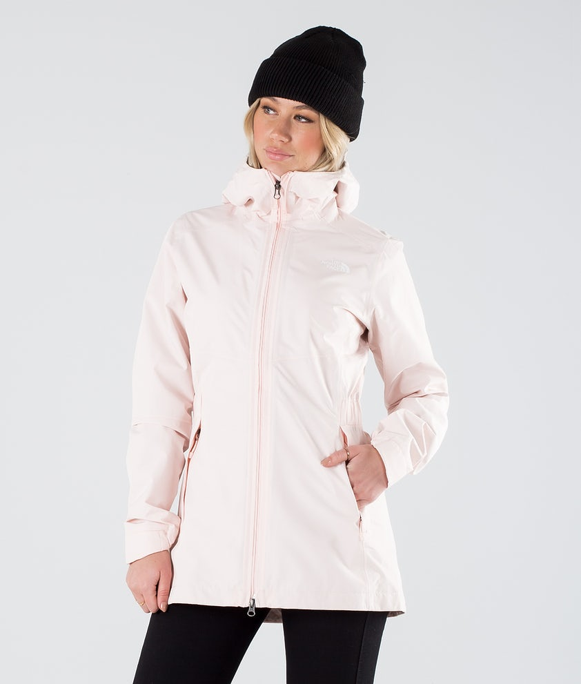 The North Face Hikesteller Parka Shell Outdoor Jacket Pearl Blush