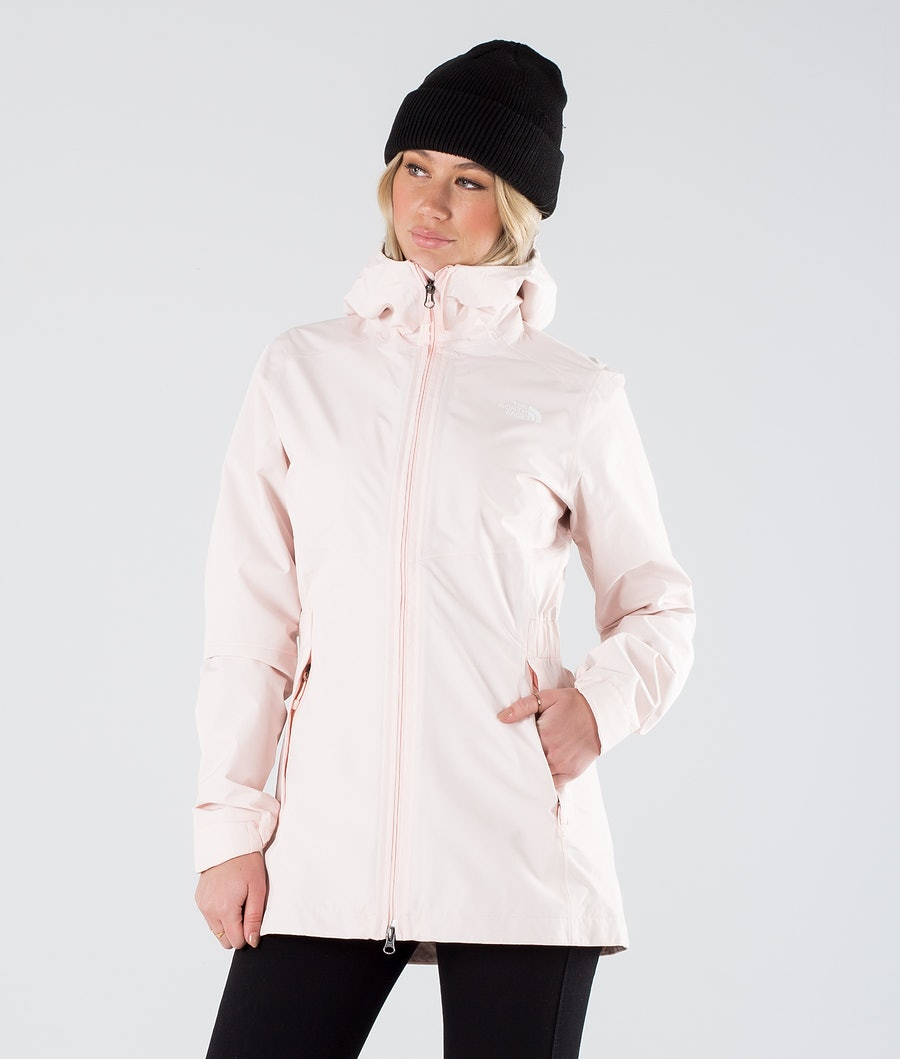 The North Face Hikesteller Parka Shell Outdoor Jacka Pearl Blush
