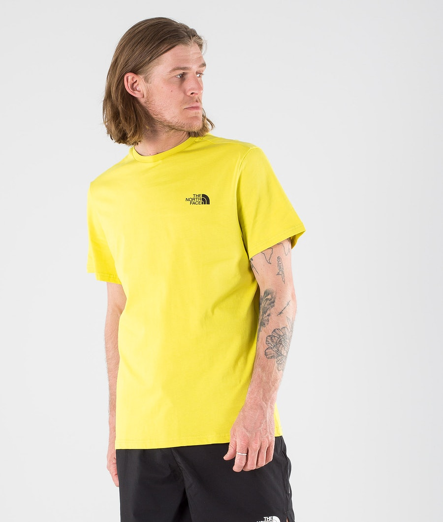 The North Face Simple Dome T-shirt Citronelle Green