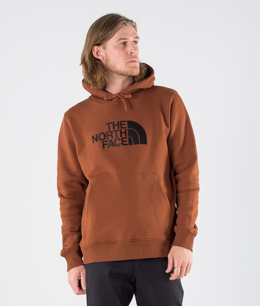 The North Face Drew Peak Hoodie Turtle Brown
