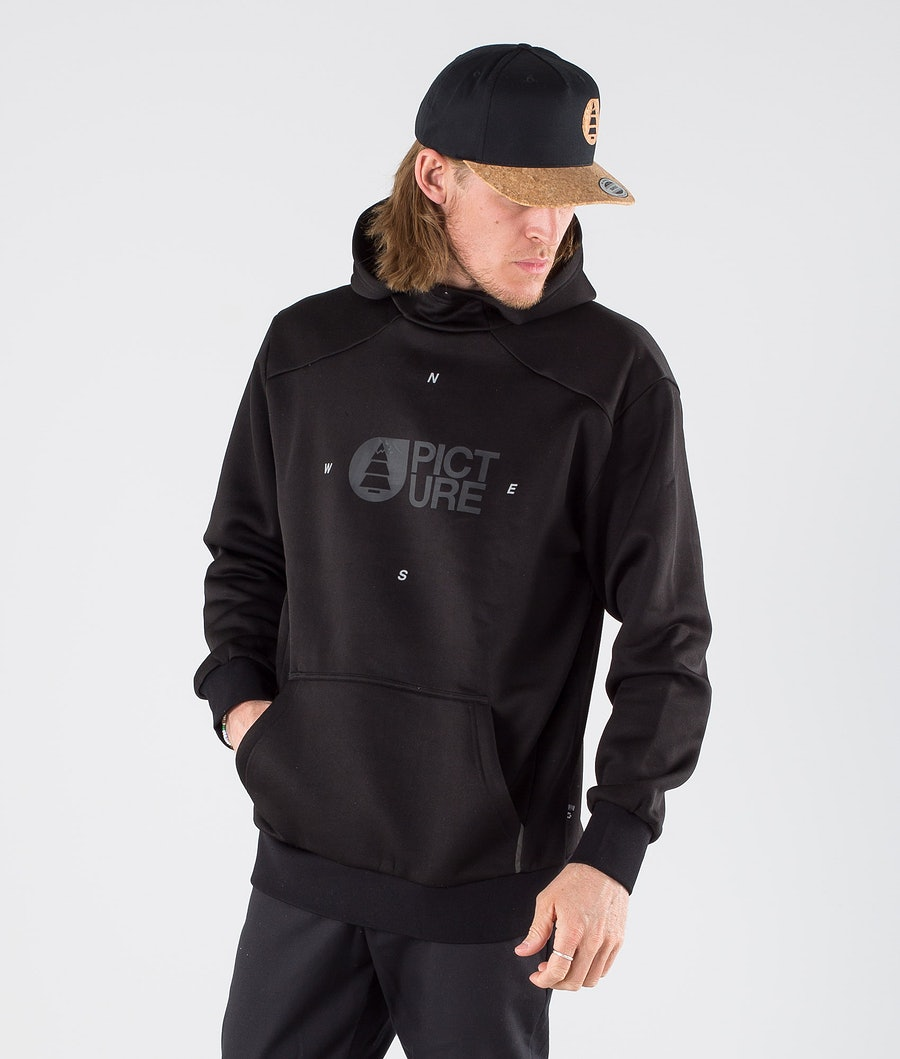 Picture Flack Tech Hoodie Black