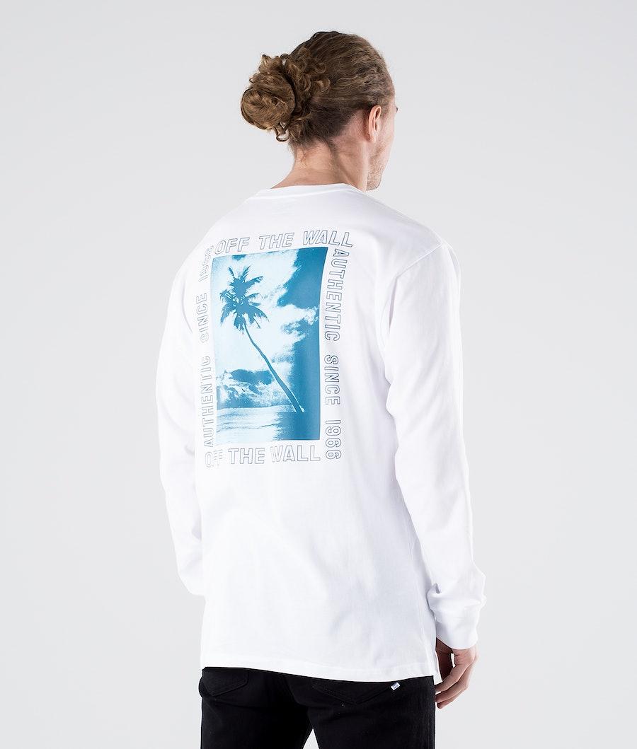 Vans Moonstone Beach Longsleeve White