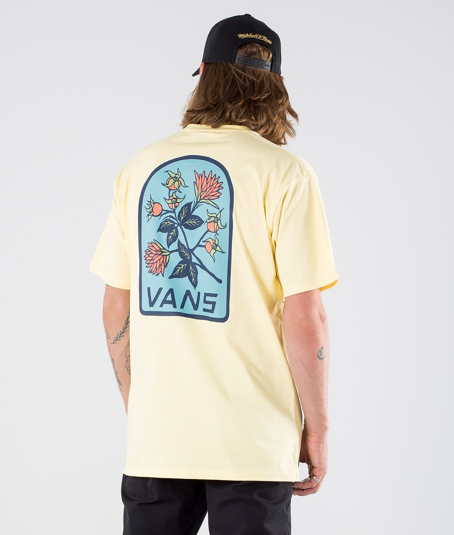 Vans Low Point Floral T-shirt Mellow Yellow