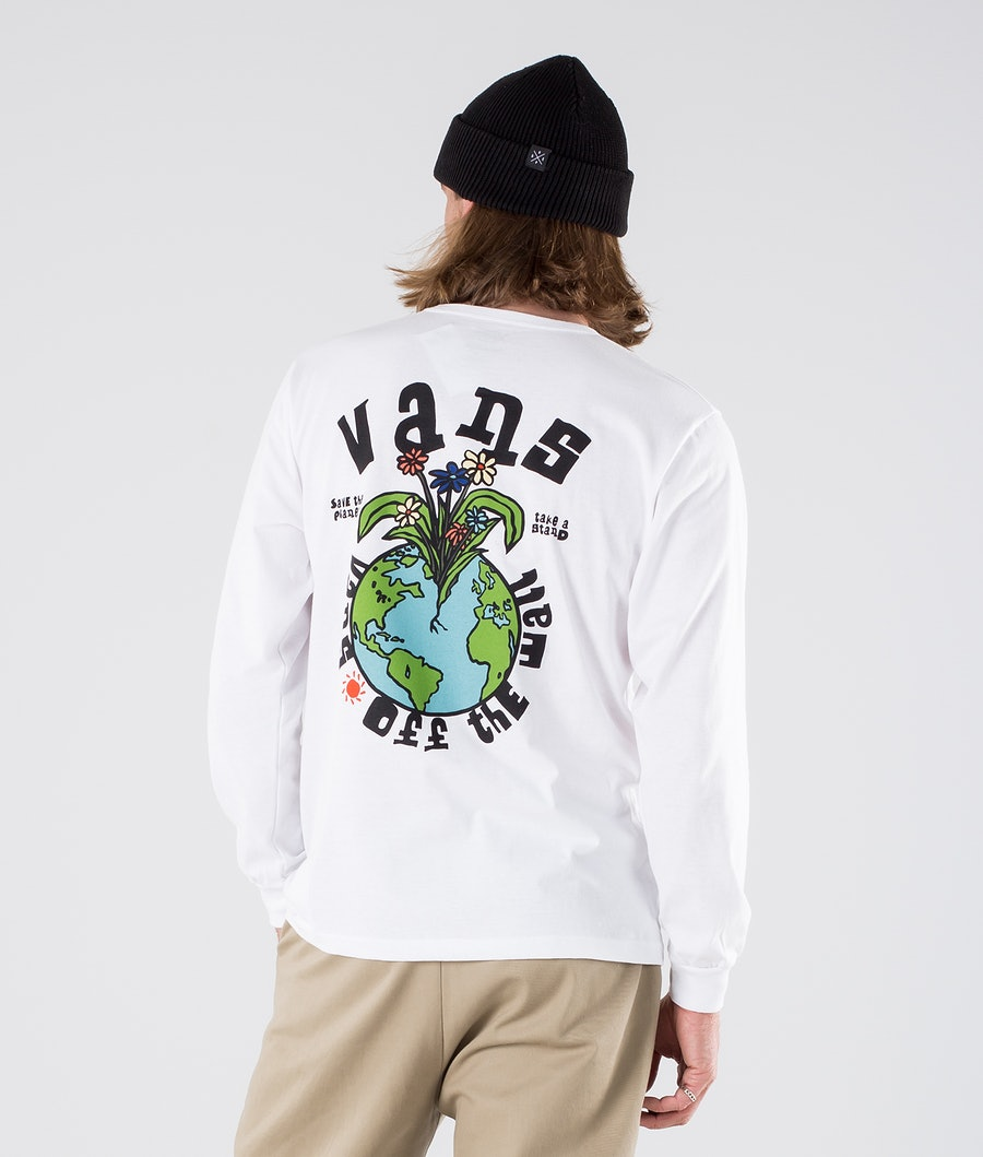 Vans Stand Off The Wall T-Shirt Vintage White