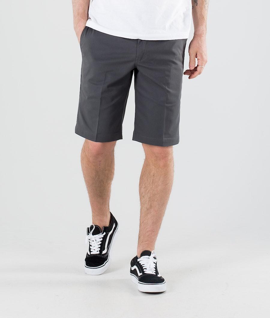 Dickies Slim Straight Flex Shortsit Charcoal Grey
