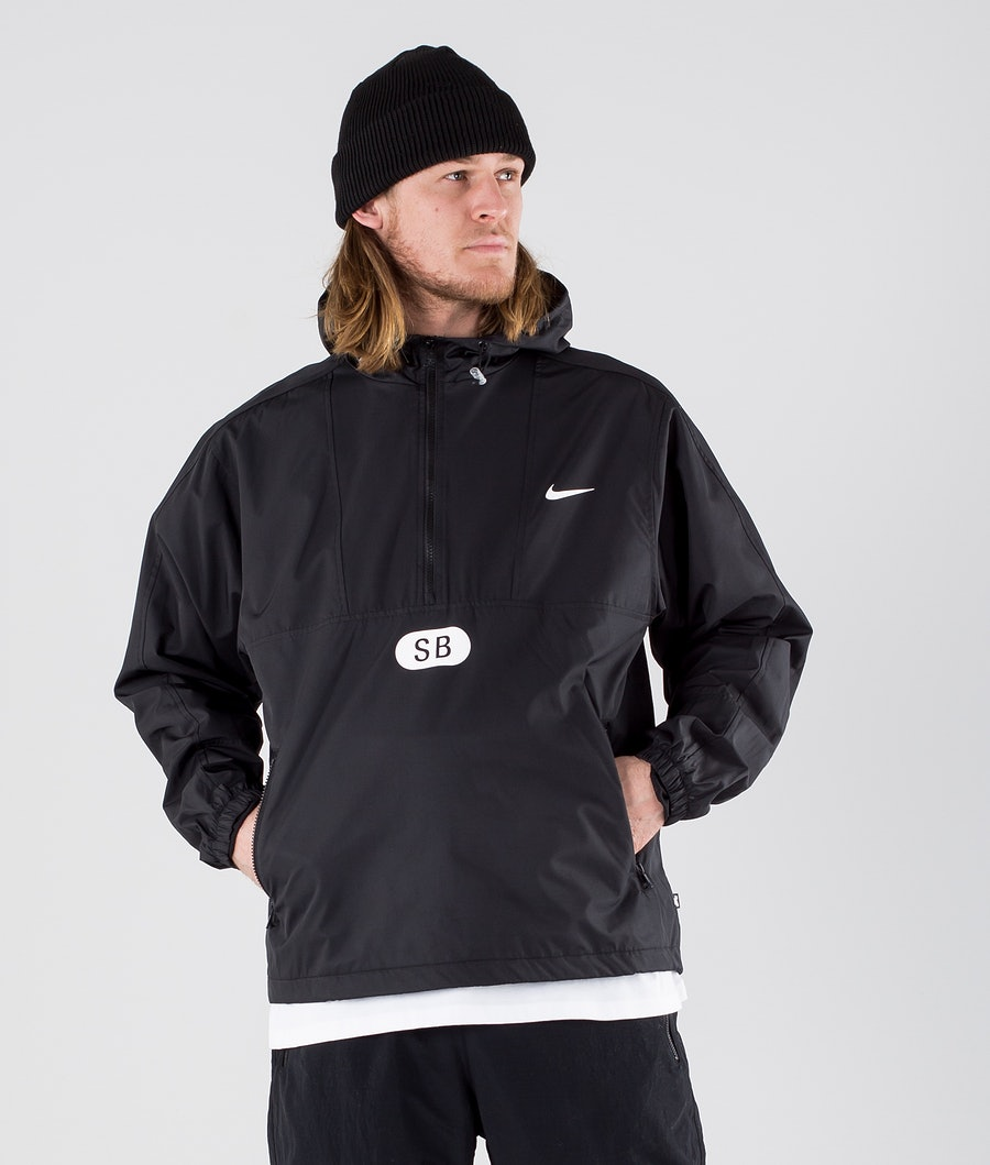 Nike SB March Radness Anorak Jacket Black/Black/Black/White