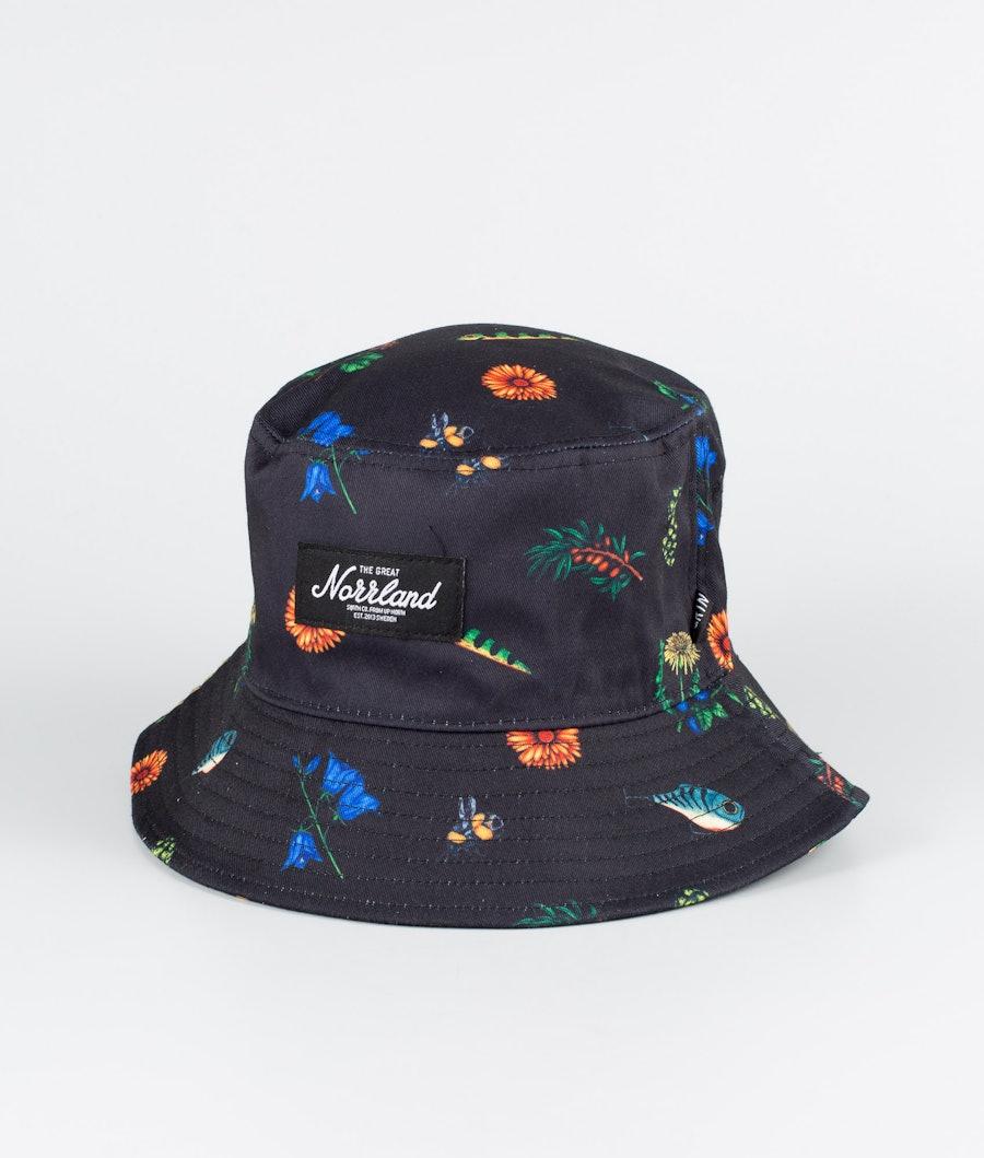 SQRTN Bucket Hat Keps Best of Black