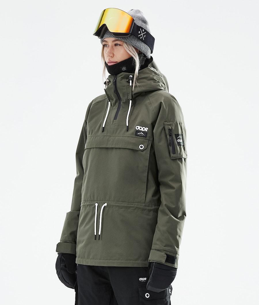 Dope Annok W Snowboardjacke Olive Green