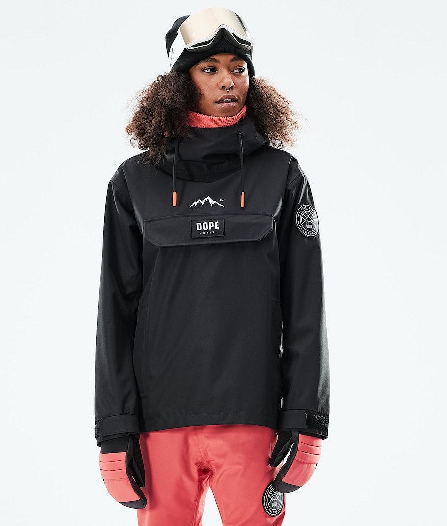 Dope Blizzard PO W Snowboardjacka Black