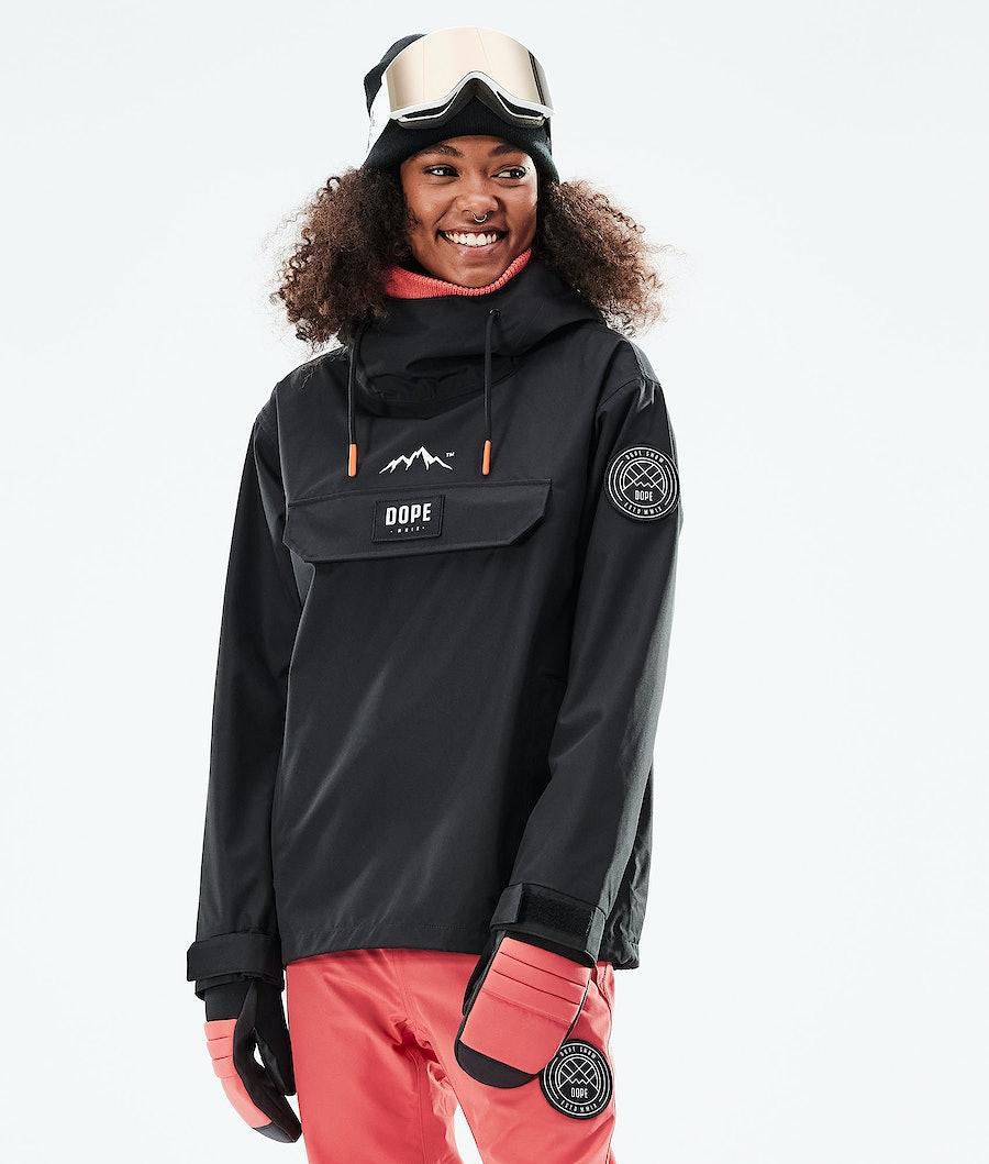 Dope Blizzard PO W Veste de Ski Black