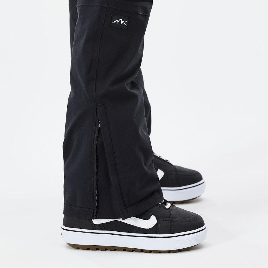 Anpassbare Beinabschlüsse mit Reißverschluss