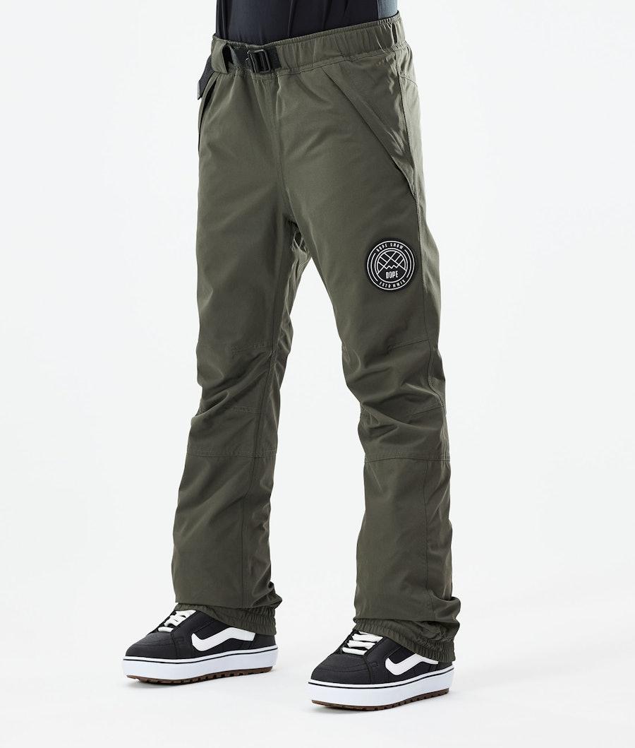 Dope Blizzard W Pantalon de Snowboard Olive Green
