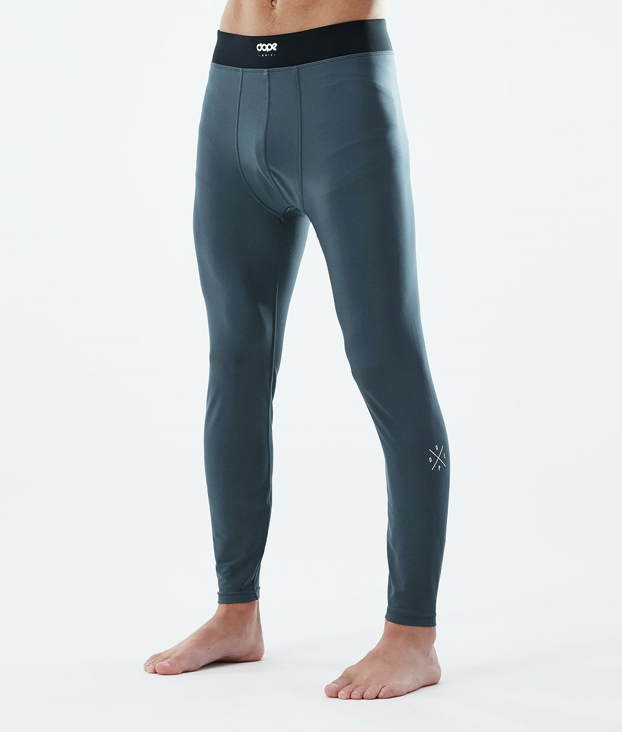 Snuggle 2X-UP Base Layer Pant Men Metal Blue