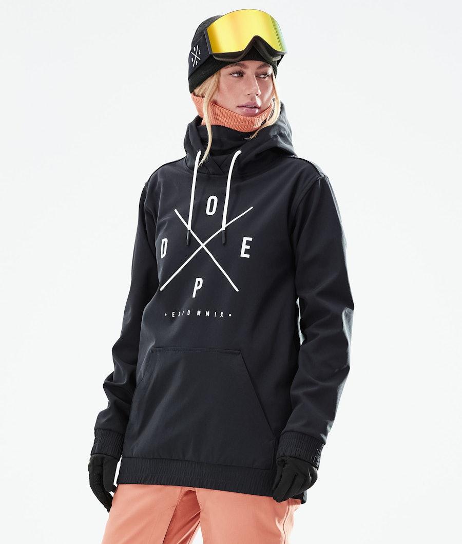 Dope Yeti W Veste Snowboard Black