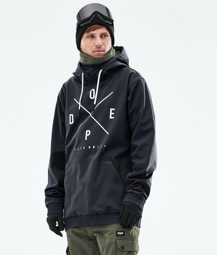 Dope Yeti Snowboardjacke Black