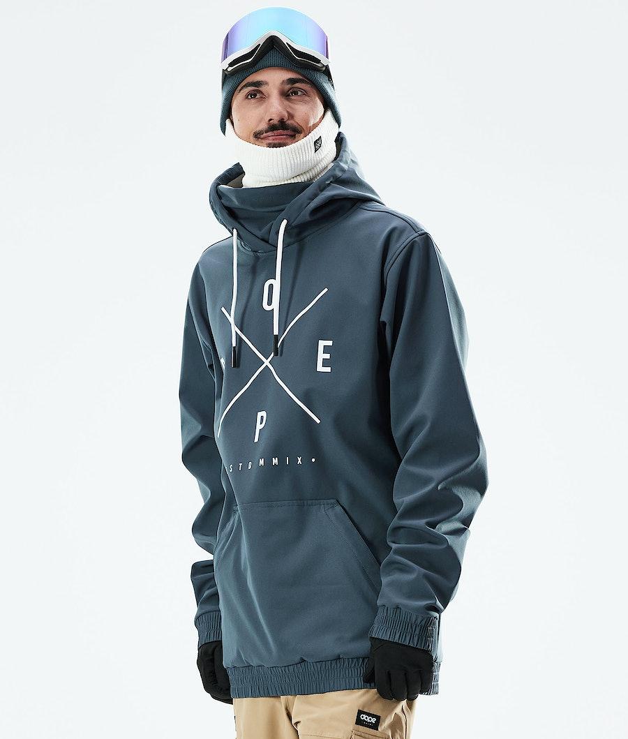 Dope Yeti Ski Jacket Metal Blue
