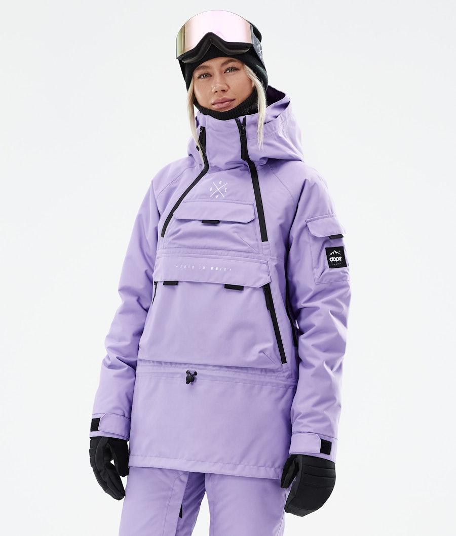 Dope Akin W Veste Snowboard Faded Violet
