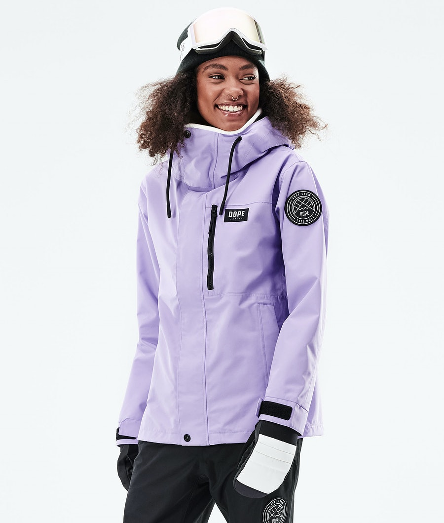 Dope Blizzard FZ W Veste Snowboard Faded Violet