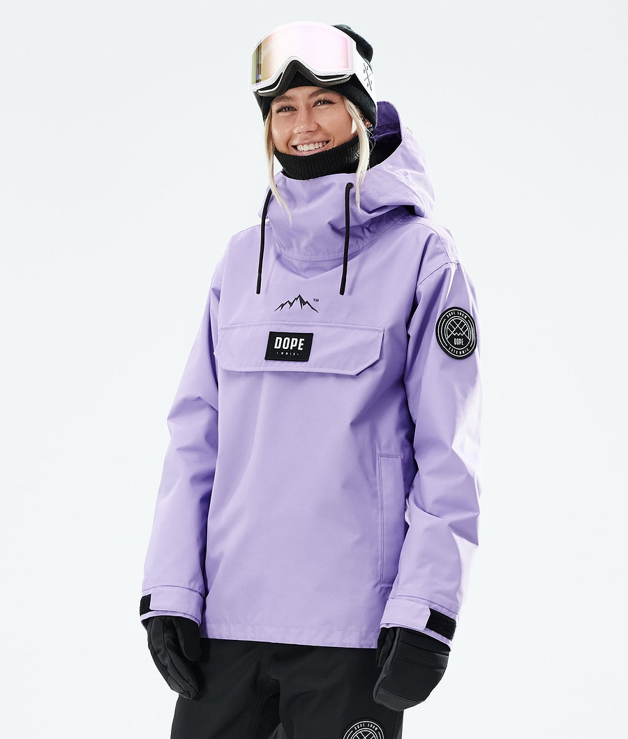 Dope Blizzard PO W Ski Jacket Faded Violet