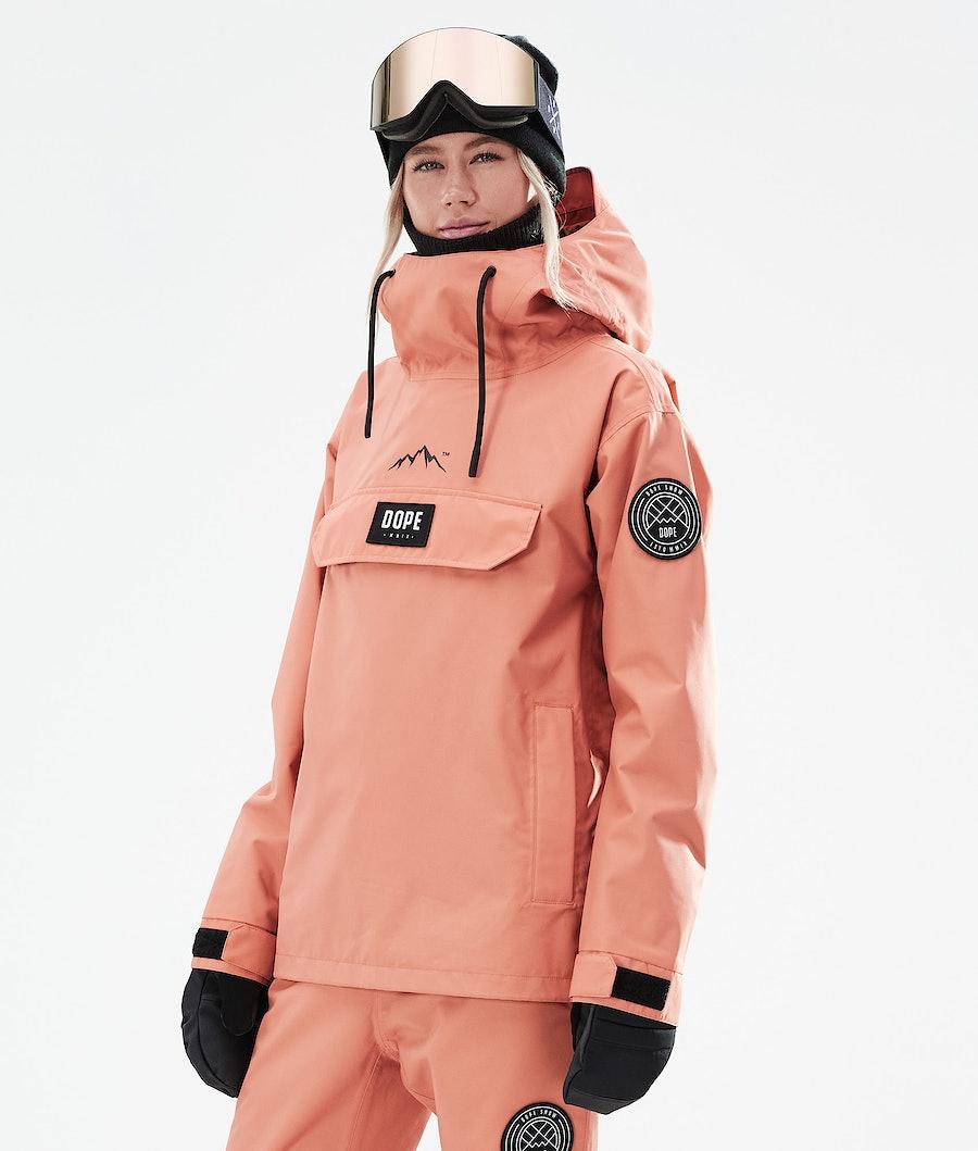 Dope Blizzard PO W Veste Snowboard Peach