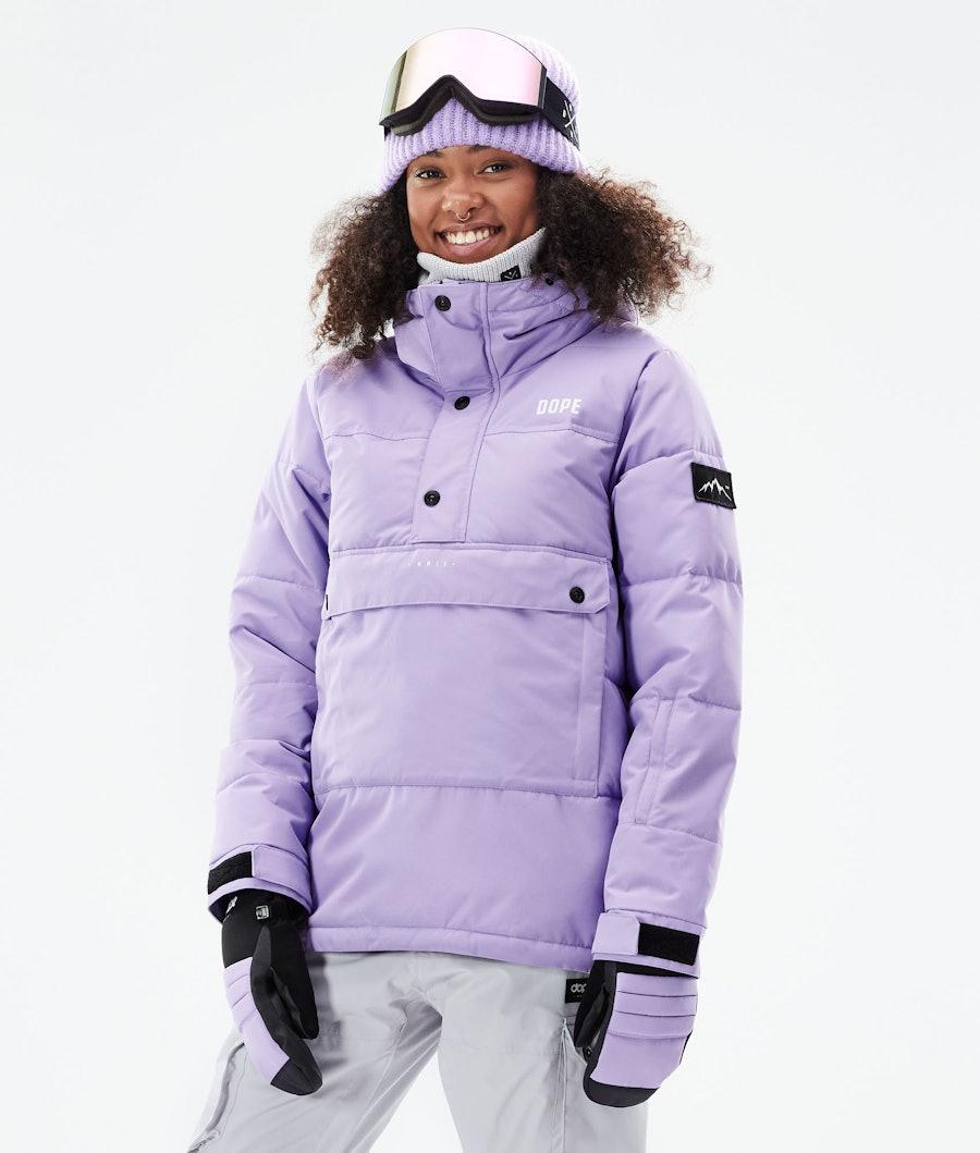 Dope Puffer W Veste Snowboard Faded Violet