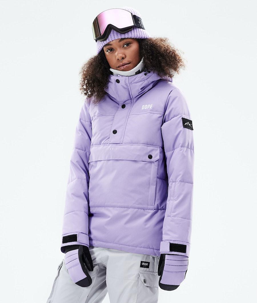 Puffer W Ski Jacket Women Faded Violet