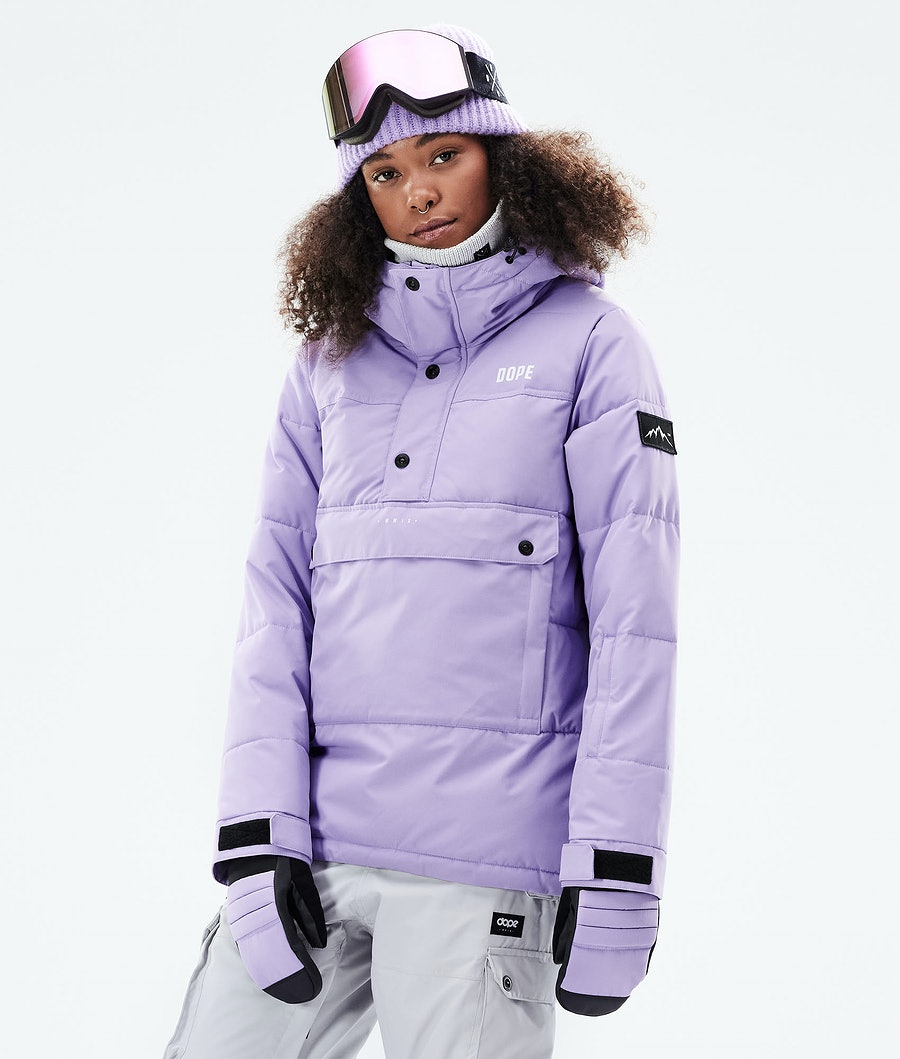 Dope Puffer W Skijacke Faded Violet