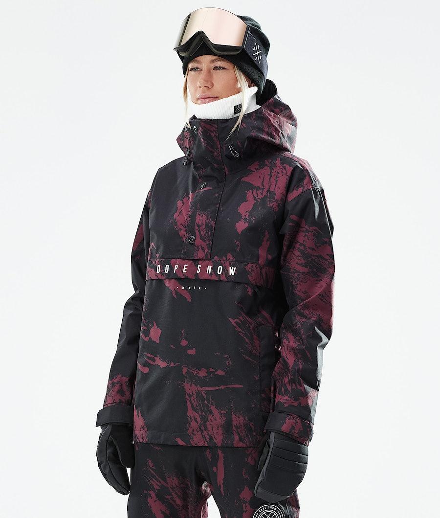 Dope Legacy W Veste Snowboard Paint Burgundy
